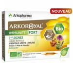 Acheter Arkoroyal Immunité Fort Solution buvable 20 Ampoules/10ml à MONTEUX