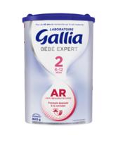 Gallia Bebe Expert Ar 2 Lait En Poudre B/800g à MONTEUX
