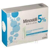 Minoxidil Bailleul 5 % Solution Pour Application Cutanée 3 Fl/60ml à MONTEUX