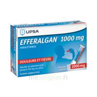 Efferalgan 1g Cappuccino Granules 8 Sachets à MONTEUX
