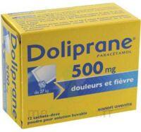 Doliprane 500 Mg Poudre Pour Solution Buvable En Sachet-dose B/12 à MONTEUX