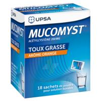 Mucomyst 200 Mg Poudre Pour Solution Buvable En Sachet B/18 à MONTEUX