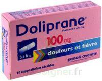 Doliprane 100 Mg Suppositoires Sécables 2plq/5 (10) à MONTEUX