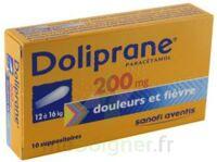 Doliprane 200 Mg Suppositoires 2plq/5 (10) à MONTEUX