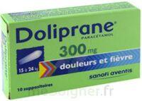 Doliprane 300 Mg Suppositoires 2plq/5 (10) à MONTEUX