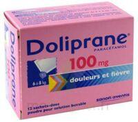 Doliprane 100 Mg Poudre Pour Solution Buvable En Sachet-dose B/12 à MONTEUX