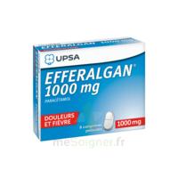 Efferalgan 1000 Mg Comprimés Pelliculés Plq/8 à MONTEUX