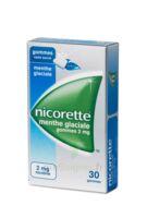 Nicorette 2 Mg Gom à Mâcher Médic Sans Sucre Menthe Glaciale Plq/30gom à MONTEUX