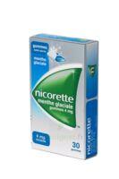 Nicorette 4 Mg Gom à Mâcher Médic Sans Sucre Menthe Glaciale Plq/30gom à MONTEUX