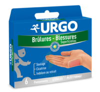 URGO BRULURES-BLESSURES PETIT FORMAT x 6 à MONTEUX