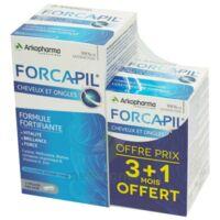 Forcapil Gélules croissance vitalité cheveux ongles B/180+60 à MONTEUX