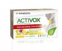 Activox Comprimés à sucer citron B/24 à MONTEUX