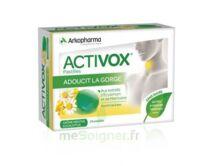 Activox sans sucre Pastilles menthe eucalyptus B/24 à MONTEUX