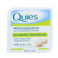 QUIES PROTECTION AUDITIVE CIRE NATURELLE 8 PAIRES à MONTEUX