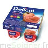 DELICAL NUTRA'POTE DESSERT AUX FRUITS, 200 g x 4 à MONTEUX