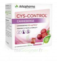 Cys-Control 36mg Poudre orale 20 Sachets/4g à MONTEUX