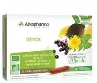 Arkofluide Bio Ultraextract Solution Buvable Détox 20 Ampoules/10ml à MONTEUX