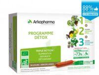 Arkofluide Bio Ultraextract Coffret programme détox 3x10 Ampoules/10ml à MONTEUX
