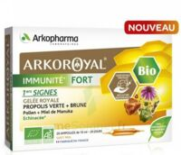 Arkoroyal Immunité Fort Solution buvable 20 Ampoules/10ml à MONTEUX