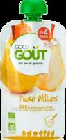Good Goût Alimentation infantile poire williams Gourde/120g à MONTEUX