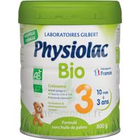 Physiolac Bio Lait 3éme Age 800g à MONTEUX