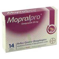 Mopralpro 20 Mg Cpr Gastro-rés Film/14 à MONTEUX