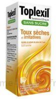 Toplexil 0,33 Mg/ml Sans Sucre Solution Buvable 150ml à MONTEUX