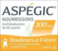 Aspegic Nourrissons 100 Mg, Poudre Pour Solution Buvable En Sachet-dose à MONTEUX