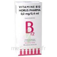 Vitamine B12 Horus Pharma 0,05 % Collyre Sol En Récipient Unidose 20unid/0,4ml à MONTEUX