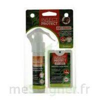 Insect Protect Spray Peau + Spray VÊtements Fl/18ml+fl/50ml à MONTEUX