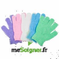 Gants soin de beauté exfoliants (la paire) à MONTEUX