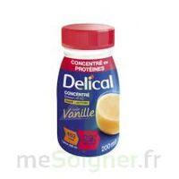 DELICAL BOISSON HP HC CONCENTREE Nutriment vanille 4Bouteilles/200ml à MONTEUX