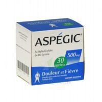 Aspegic 500 Mg, Poudre Pour Solution Buvable En Sachet-dose 30 à MONTEUX