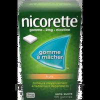 Nicorette 2 Mg Gomme à Mâcher Médicamenteuse Sans Sucre Fruits Plq/30 à MONTEUX