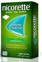 Nicorette 2 Mg Gom à Mâcher Médic Sans Sucre Menthe Fraîche Plq/30gom à MONTEUX