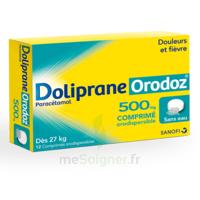 Dolipraneorodoz 500 Mg, Comprimé Orodispersible à MONTEUX
