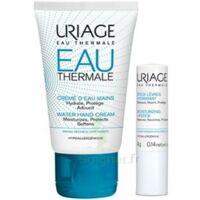 Uriage Eau Thermale Crème d'eau mains T/30ml+Stick lèvres à MONTEUX