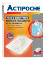 Actipoche Patch chauffant douleurs musculaires B/2 à MONTEUX