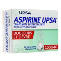 Aspirine Upsa Tamponnee Effervescente 1000 Mg, Comprimé Effervescent à MONTEUX