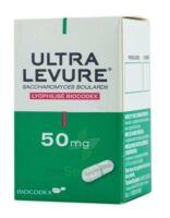 Ultra-levure 50 Mg Gélules Fl/50 à MONTEUX