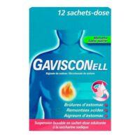 Gavisconell Suspension Buvable Sachet-dose Menthe Sans Sucre 12sach/10ml à MONTEUX