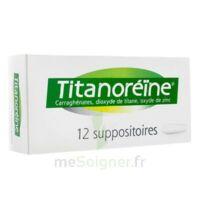 Titanoreine Suppositoires B/12 à MONTEUX