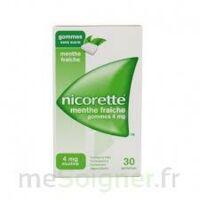 Nicorette 4 Mg Gom à Mâcher Médic Sans Sucre Menthe Fraîche Plq/30gom à MONTEUX