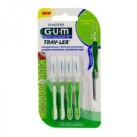 Gum Trav - Ler, 1,1 Mm, Manche Vert , Blister 4 à MONTEUX