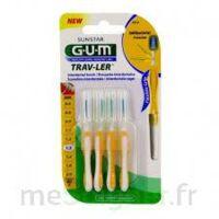 Gum Trav - Ler, 1,3 Mm, Manche Jaune , Blister 4 à MONTEUX