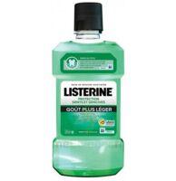 Listerine Protection Dents Gencives Bain bouche goût plus léger Fl/500ml à MONTEUX