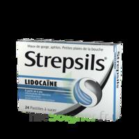 Strepsils Lidocaïne Pastilles Plq/24 à MONTEUX