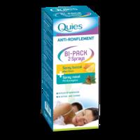 Quies Bi-Pack 2 Sprays buccal et nasale anti-ronflement à MONTEUX