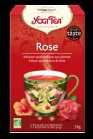 Yogi Tea Thé Tao Tea rose bio 17 Sachets à MONTEUX