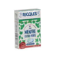 Ricqles Sucres Cuits Bonbon Menthe Extra-forte Sans Sucre B/40g à MONTEUX